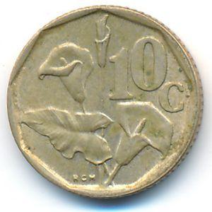 ЮАР, 10 центов (1992 г.)