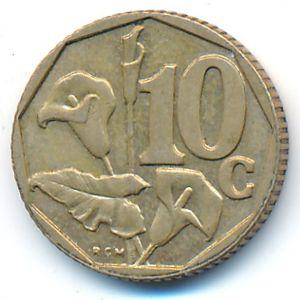 ЮАР, 10 центов (1996 г.)