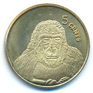 Кирибати, 5 центов (2003 г.)