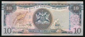 Тринидад и Тобаго, 10 долларов (2006 г.)