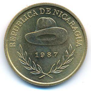 Никарагуа, 50 сентаво (1987 г.)