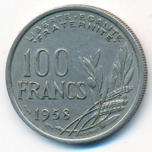 Франция, 100 франков (1958 г.)