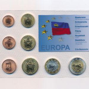 Лихтенштейн, Набор монет (2004 г.)
