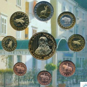 Словения, Набор монет (2004 г.)