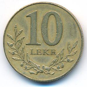 Албания, 10 лек (1996 г.)