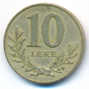 Албания, 10 лек (2000 г.)