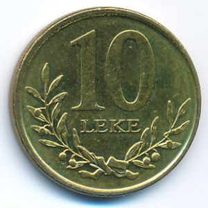 Албания, 10 лек (2013 г.)