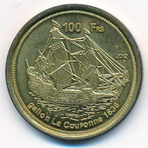 Бассас-да-Индия, 100 франков (2012 г.)