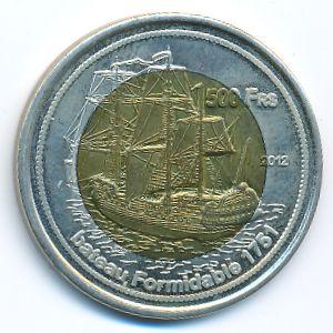 Бассас-да-Индия, 500 франков (2012 г.)