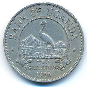 Уганда, 2 шиллинга (1966 г.)