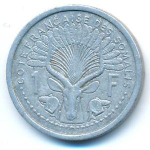 Французское Сомали, 1 франк (1965 г.)