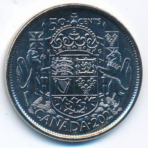 Канада, 50 центов (2021 г.)