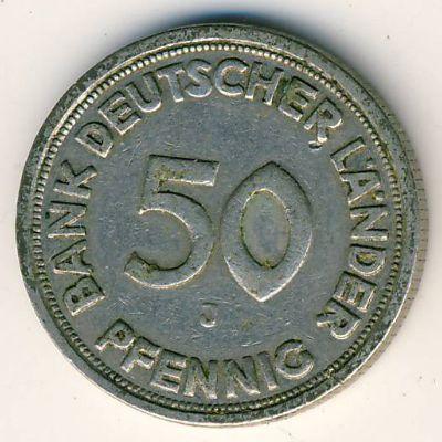 50 pfennig 1950 года цена сколько стоит монета 1924 года 1 полтинник