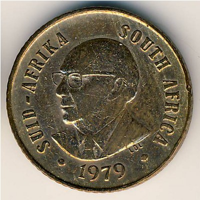 South Africa, 1 cent, 1979