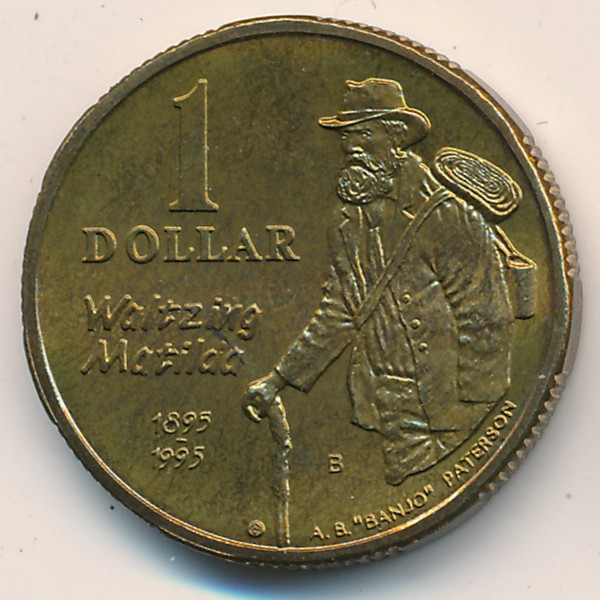 Австралия, 1 доллар (1995 г.)