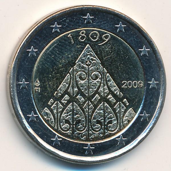 Финляндия, 2 евро (2009 г.)