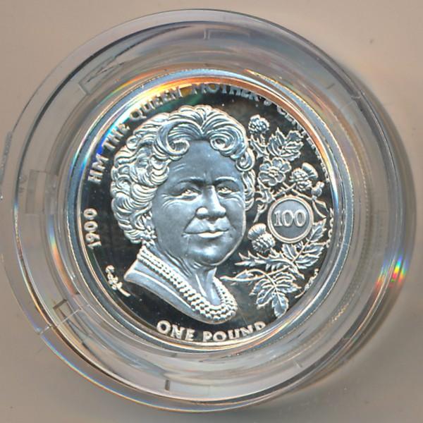 Гернси, 1 фунт (2000 г.)