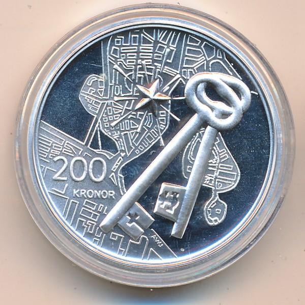 Швеция, 200 крон (2004 г.)
