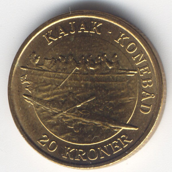 Дания, 20 крон (2010 г.)