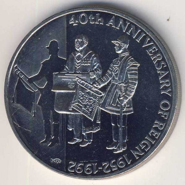 Фолклендские острова, 50 пенсов (1992 г.)
