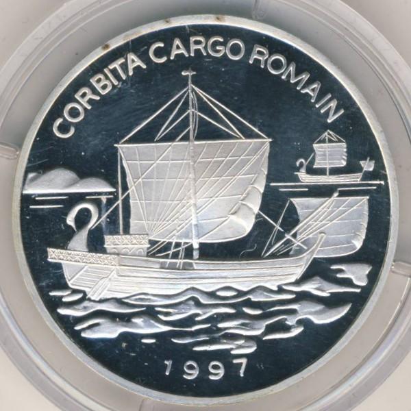 Конго, 1000 франков (1997 г.)
