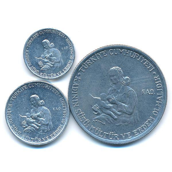 Турция, Набор монет (1976 г.)