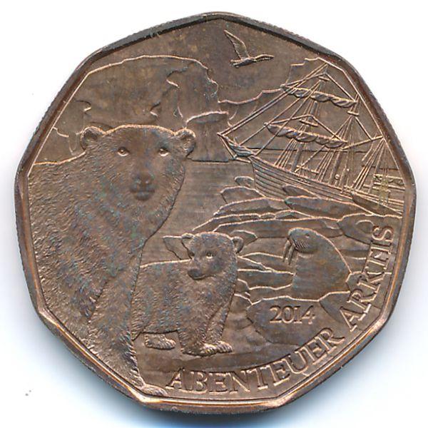 Австрия, 5 евро (2014 г.)