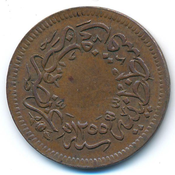 Турция, 10 пар (1857 г.)