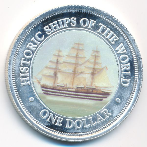 Острова Кука, 1 доллар (2003 г.)