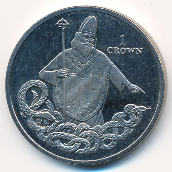 Остров Мэн, 1 крона (2013 г.)
