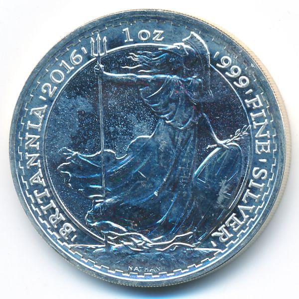 Великобритания, 2 фунта (2016 г.)