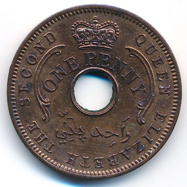 Нигерия, 1 пенни (1959 г.)