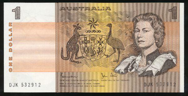Австралия, 1 доллар