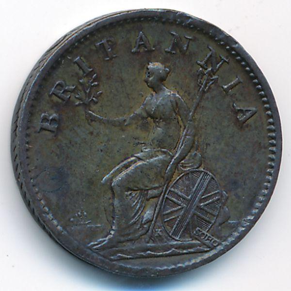 Великобритания, 1 фартинг (1806 г.)