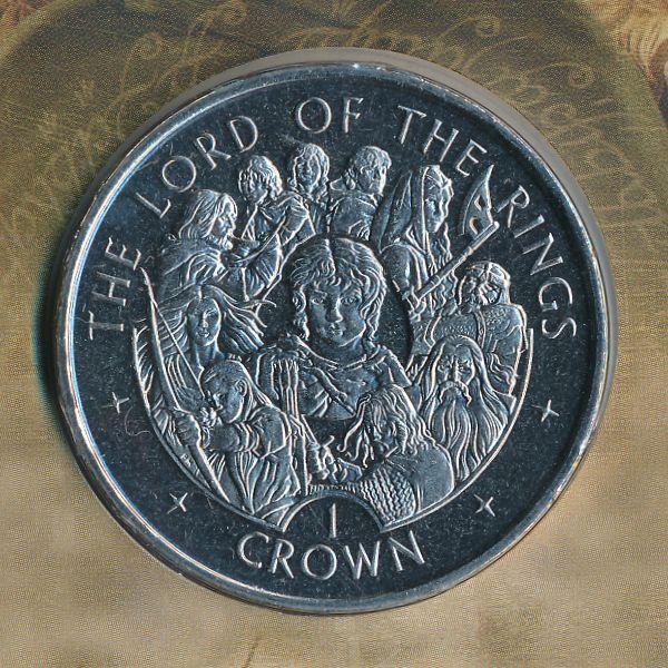 Остров Мэн, 1 крона (2003 г.)