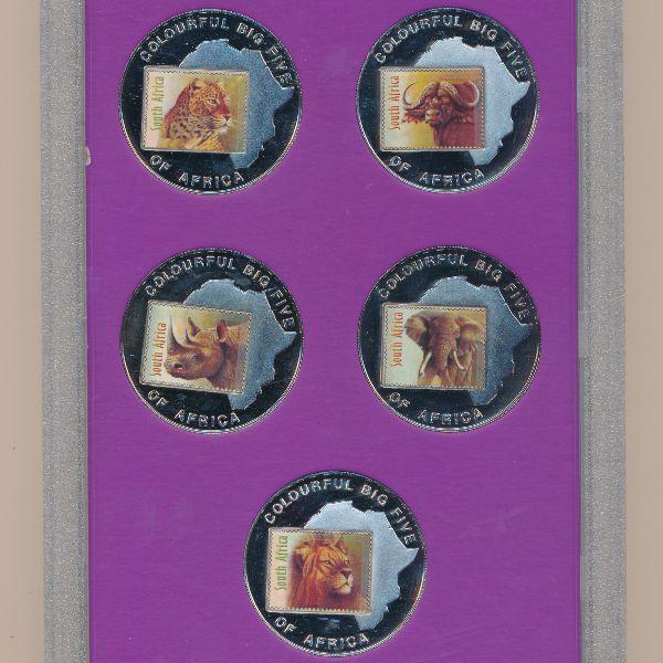 Уганда, Набор монет (2001 г.)