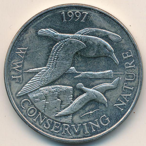 Фолклендские острова, 50 пенсов (1997 г.)