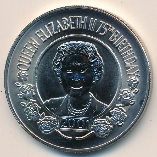Остров Святой Елены, 50 пенсов (2001 г.)