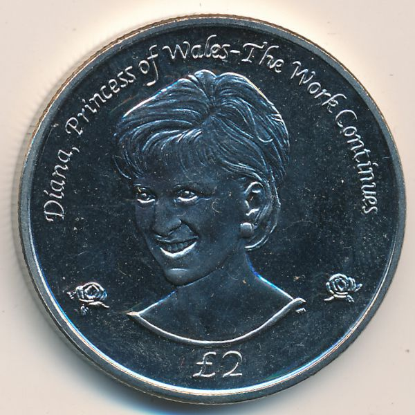 Южная Джорджия и Южные Сэндвичевы острова, 2 фунта (2002 г.)