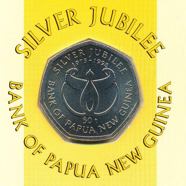 Папуа - Новая Гвинея, 50 тоа (1998 г.)