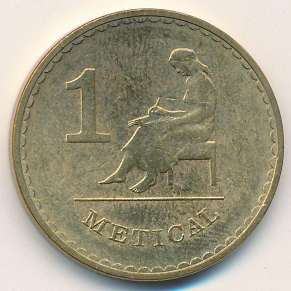 Мозамбик, 1 метикал (1980 г.)