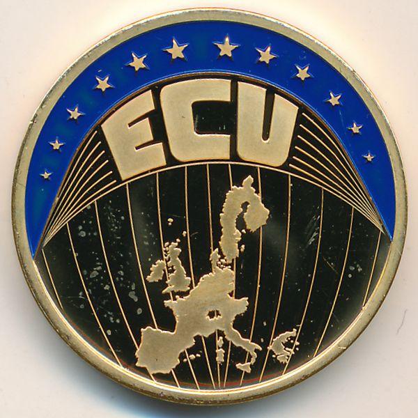 Европа, 1 экю (2002 г.)