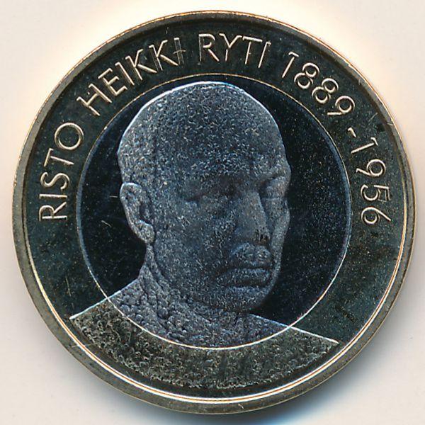 Финляндия, 5 евро (2017 г.)