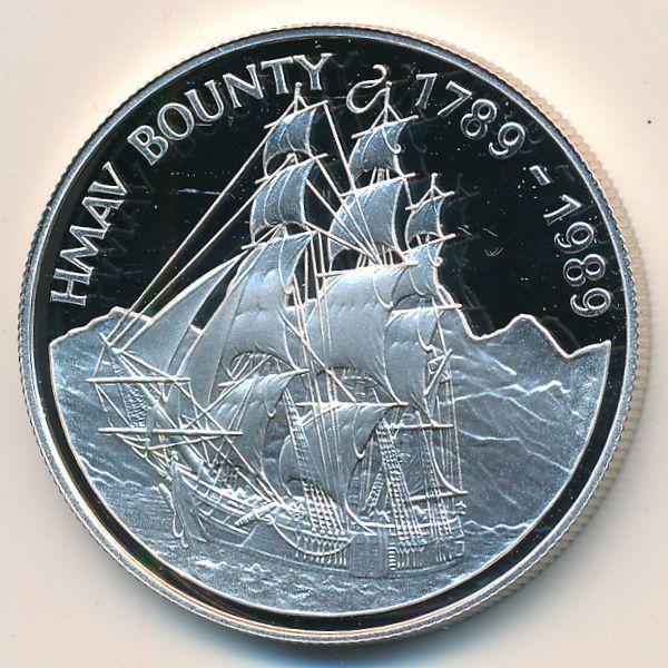 Острова Питкэрн, 1 доллар (1989 г.)