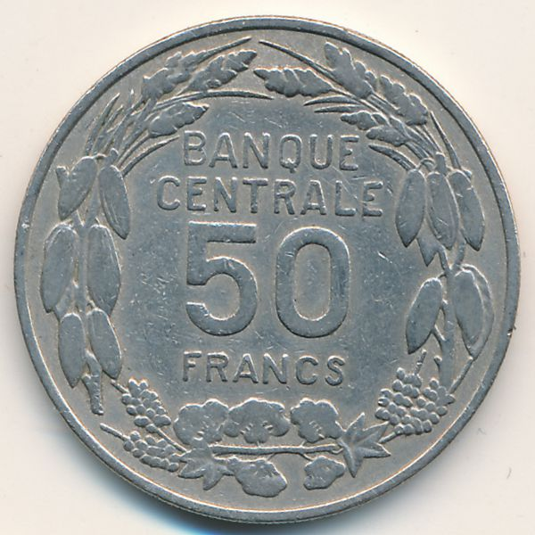 Камерун, 50 франков (1960 г.)