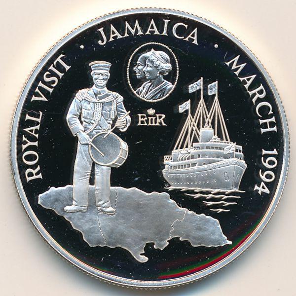 Ямайка, 10 долларов (1994 г.)