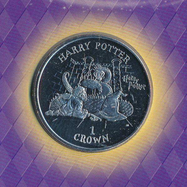 Остров Мэн, 1 крона (2002 г.)
