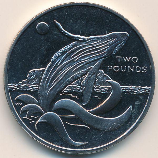 Южная Джорджия и Южные Сэндвичевы острова, 2 фунта (2015 г.)