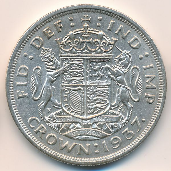 Великобритания, 1 крона (1937 г.)