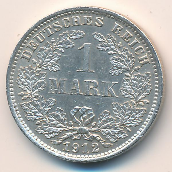 Германия, 1 марка (1912 г.)